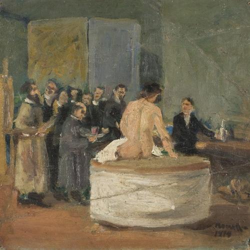 Isidre Nonell - Acadèmia Artística Lliure of Barcelona - Barcelona, 1894