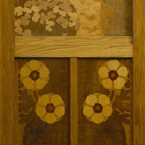 Gaspar Homar - Donzella collint flors - Cap a 1905