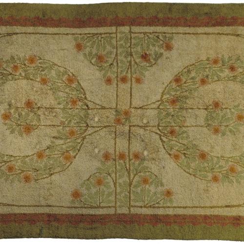 Gaspar Homar - Catifa amb motius florals - Cap a 1907