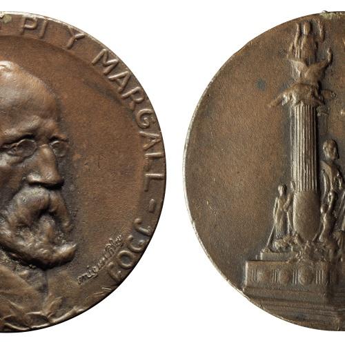 Miquel Blay - To Francesc Pi i Margall - 1917