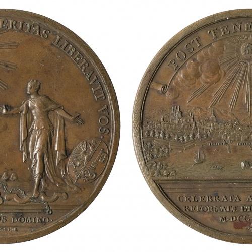Jean Dassier - Bicentenari de la Reforma a Ginebra - 1735