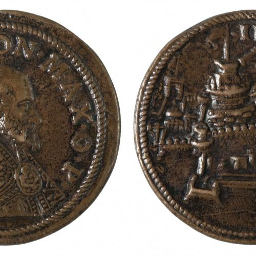 Gian Federigo Bonzagna - Pius IV i la fortificació del castell Sant Angelo - 1561