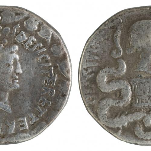 Marc Antoni, triumvir de la República Romana - Cistophorus (tetradrachm) - 39 BC