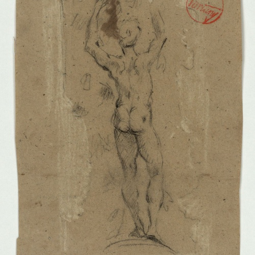 Marià Fortuny - Study for the picture 'The Choice of a Model' - Circa 1868-1870