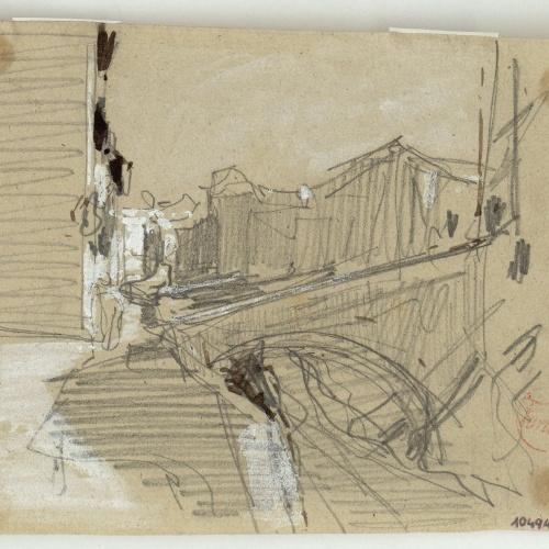 Marià Fortuny - The Darro river (Granada) - Circa 1870-1872