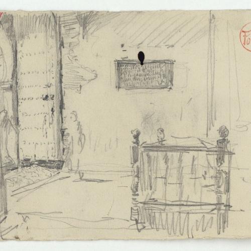 Marià Fortuny - Interior d'una casa d'estil musulmà - Cap a 1860-1862