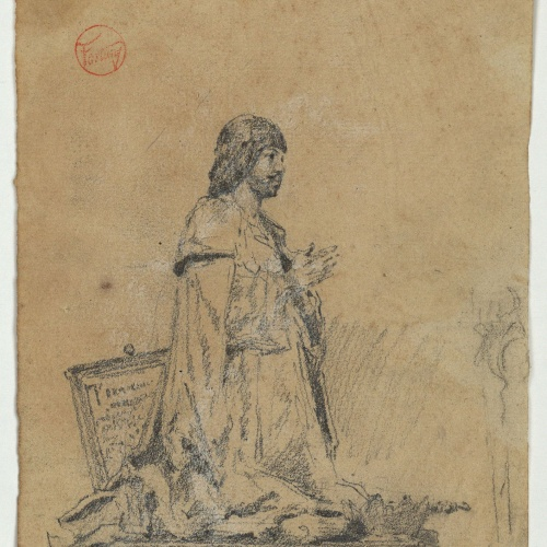 Marià Fortuny - Còpia de l'estàtua de Ferran el Catòlic - Cap a 1867-1872