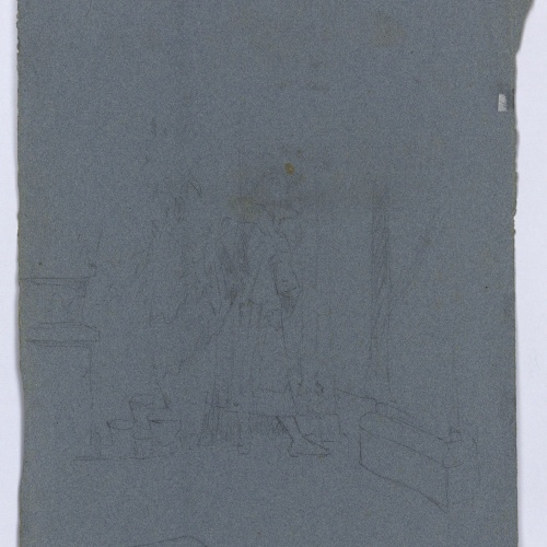 Marià Fortuny - Lackey in an interior - Circa 1865