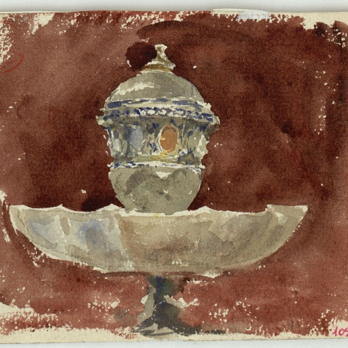 Marià Fortuny - Fountain - Circa 1863-1866
