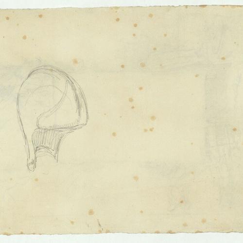 Marià Fortuny - Portada de llibre (anvers) / Casc (revers) - Cap a 1867-1872 [1]
