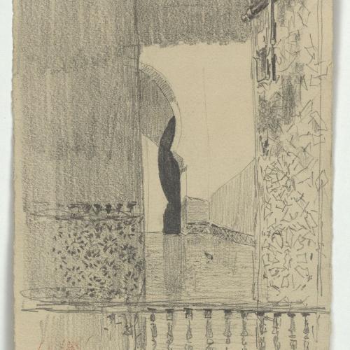 Marià Fortuny - Interior d'estil musulmà - Cap a 1860-1862