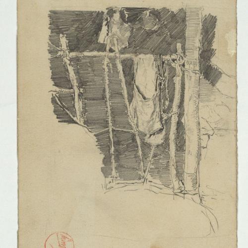 Marià Fortuny - Interior d'estable - Cap a 1867-1872