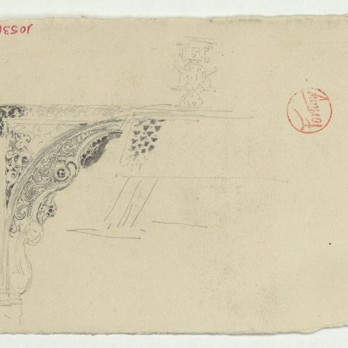 Marià Fortuny - Llinda d'estil musulmà - Cap a 1870-1872