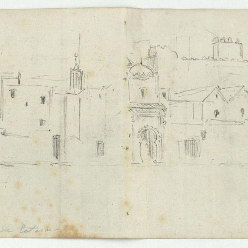 Marià Fortuny - Plaza de Tetuán (Square in Tetouan) - Circa 1860