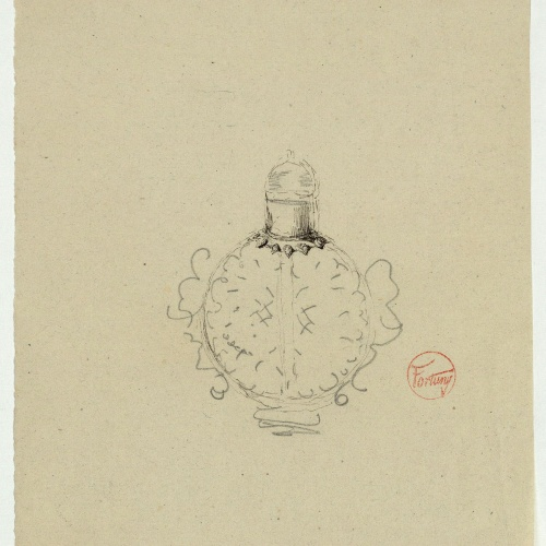 Marià Fortuny - Censer - Circa 1863-1870