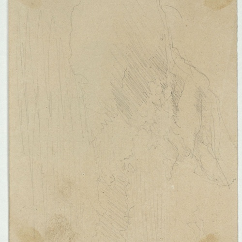 Marià Fortuny - Unidentifiable sketch - Circa 1863-1867