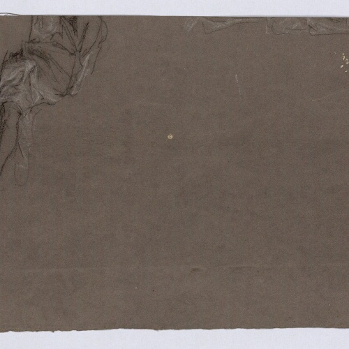 Marià Fortuny - Part of a figure study - Circa 1863-1870