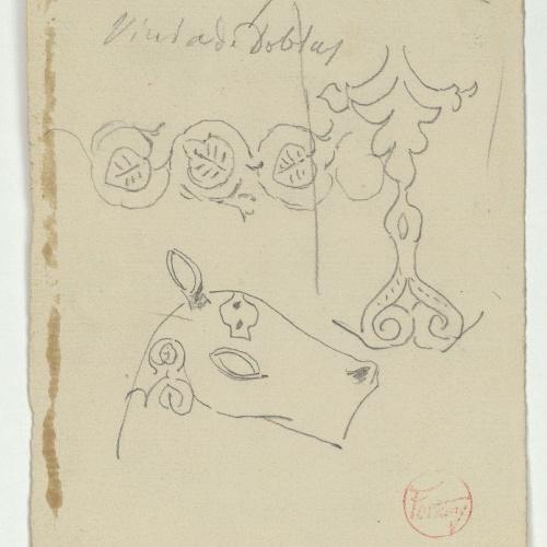 Marià Fortuny - Muslim-style ornamental motifs - Circa 1870-1872