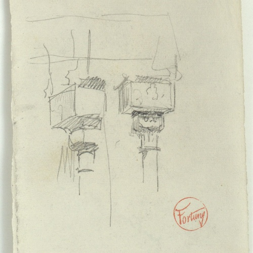 Marià Fortuny - Architrave - Circa 1866-1872