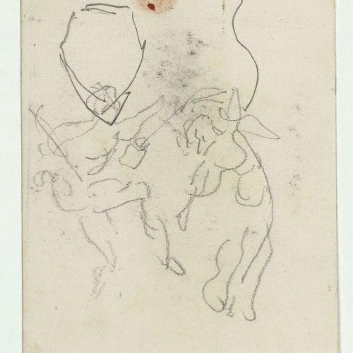 Marià Fortuny - Rough figure sketches - Circa 1863-1867