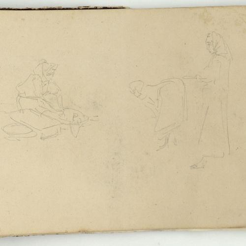 Marià Fortuny - Moroccans - Circa 1862
