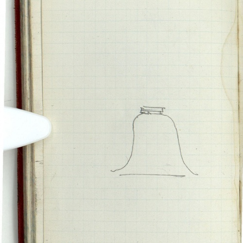 Marià Fortuny - Bell-shaped motif - Circa 1868-1872