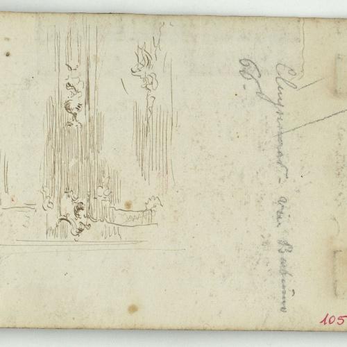 Marià Fortuny - Figure and ornamental motifs - Circa 1863-1866