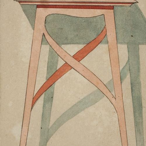 Gaspar Homar - Tamboret - Cap a 1900