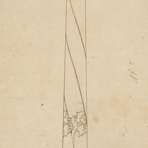 Gaspar Homar - Columna torsiva - Cap a 1905