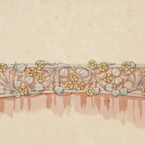 Gaspar Homar - Galeria per a cortinatges - Cap a 1900-1906