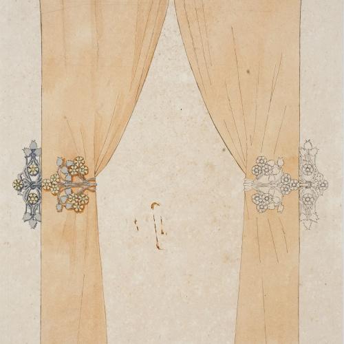 Gaspar Homar - Cortinatge amb galeria - Cap a 1900-1906
