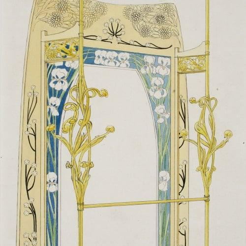 Gaspar Homar - Paraigüer amb penjadors i mirall - Cap a 1900-1906