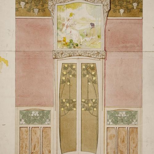 Gaspar Homar - Projecte per a la casa Navàs de Reus - Cap a 1905-1908