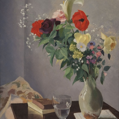 Xavier Nogués - Flors - 1935