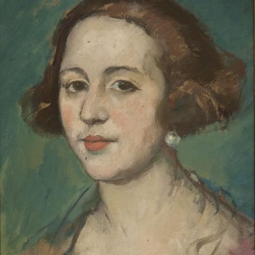 Ricard Canals - Retrat d'Isabel Escalada - Cap a 1928