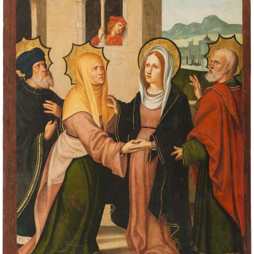 Pere Mates - Visitation - 1536