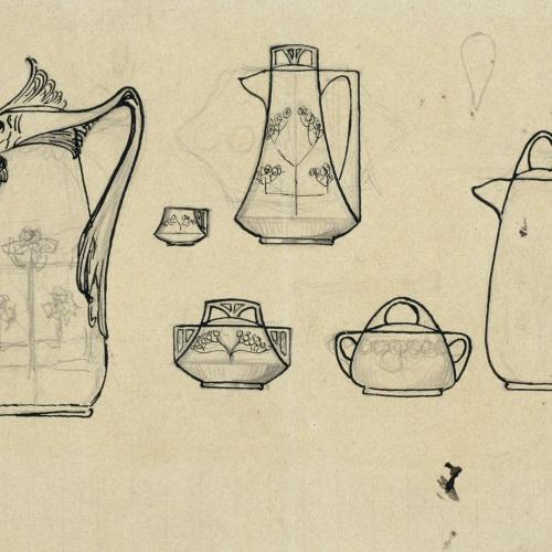 Antoni Serra - Porcellanes - Cap a 1904-1908