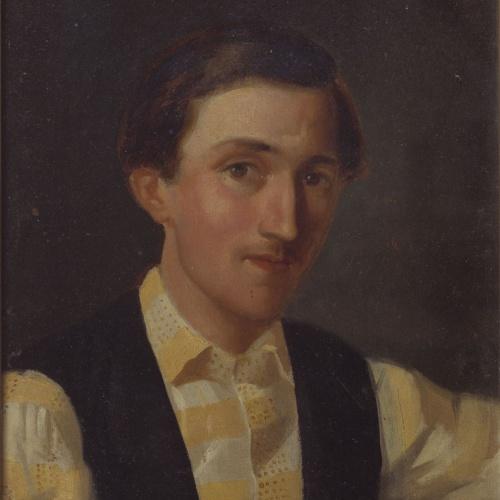 Marià Fortuny - Portrait of Jaume Esteve i Nadal - Barcelona, 1856