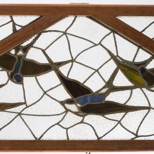 Joaquim Renart - Transom or overdoor from Tintoreria Gallard - 1905