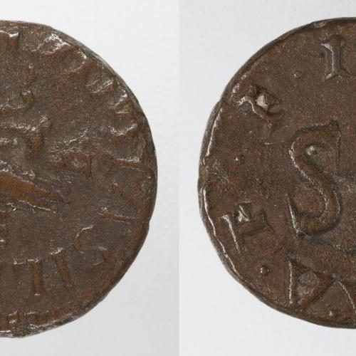 August - Quadrant de Roma - 9 aC