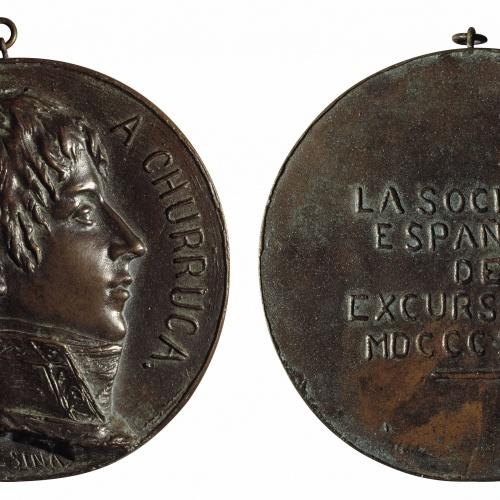 Antoni Alsina - A Cosme Damián Churruca - 1894
