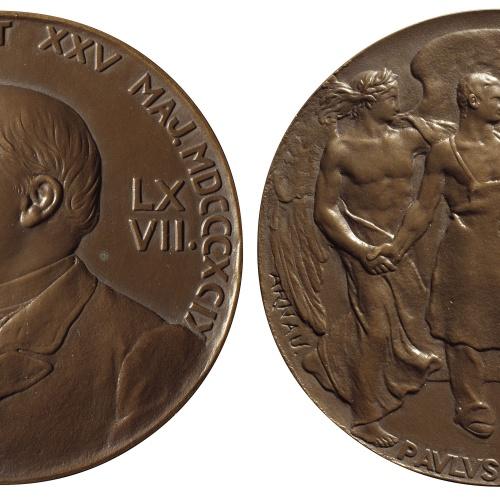Eusebi Arnau - To Emilio Castelar. Homage by Pablo Bosch - 1899