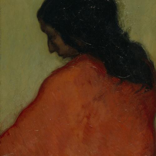 Isidre Nonell - Gitana de perfil - 1902
