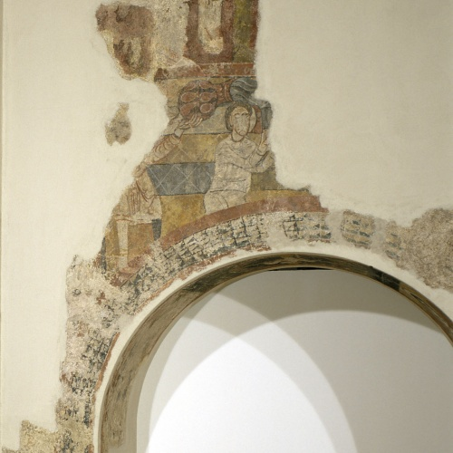 Segon Mestre de Sorpe - Pecat Original i joves abocant aigua d'unes gerres de Sorpe - Mitjan segle XII