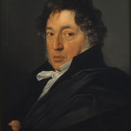 Antonio Mercar - Retrat del pintor Zacarías González Velázquez - Cap a 1828