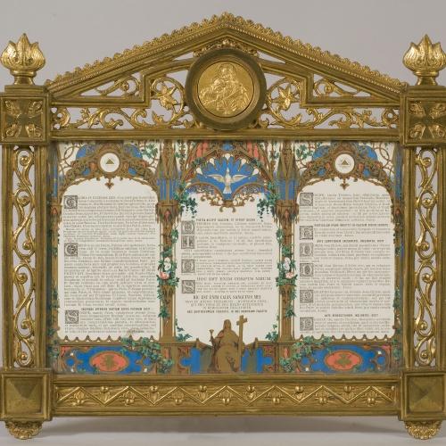 Joan Busquets - Faristol de l'altar de l'oratori Cendoya - 1905