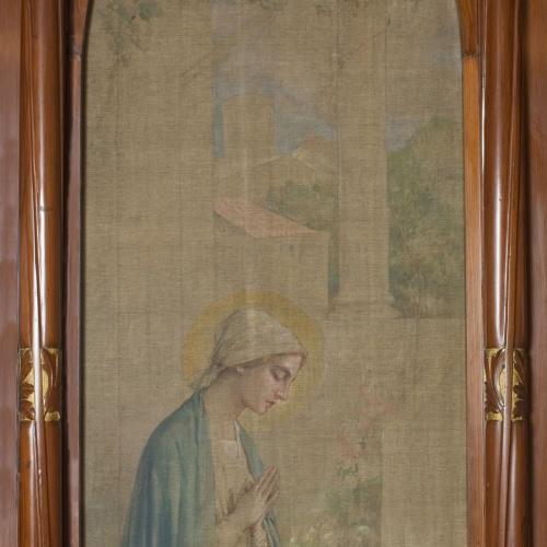 Joan Busquets - «Stella Matutina» pintura lateral de l'oratori Cendoya - 1905