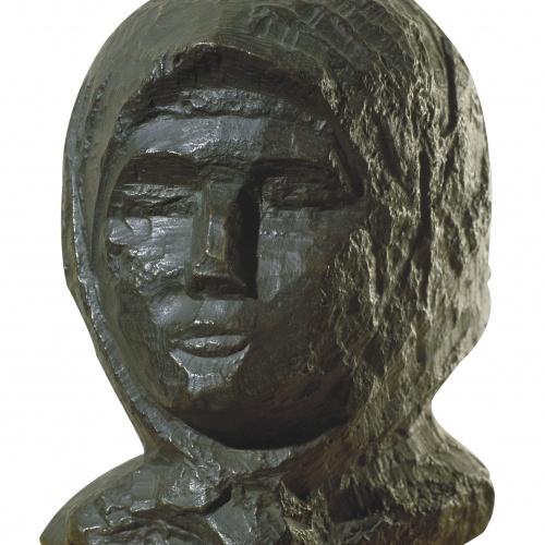Juli González - Cap de Montserrat amb mocador - Cap a 1934-1936