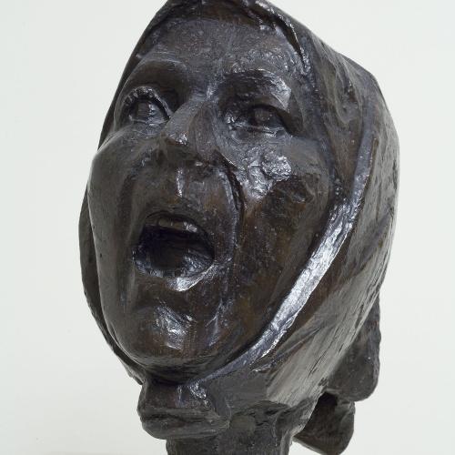 Juli González - Cap de la Montserrat cridant - Cap a 1942