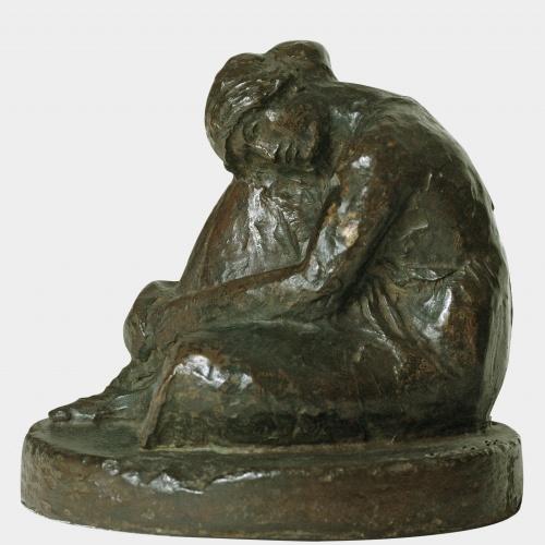 Juli González - Dona asseguda pensativa - Cap a 1910-1914